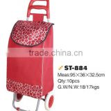 2015 new style new design hot sale upscale foldable shopping trolley cart from China professional manufacturer