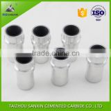 Hot sale durable boron carbide sand blasting nozzle with aluminum jacket for sandblasting