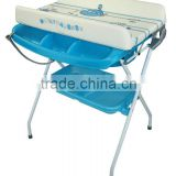 folded baby bathtub include changing table (with EN12221 certificate) baby product