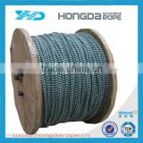 high quality nylon double braided anchor rope/anchor line/marine mooring rope reel