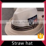 Baseball straw cowboy hat