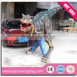 Lifelike walking t-rex dinosaur costume
