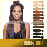 Wholesale new 48inch 60g NAPPY ANNY SUPER BRAID synthetic hair extension Super Jumbo yaki for afro