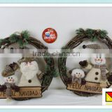 Whosale 18INCH New Idea xmas wreaths christmas decoration supplies