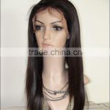 MR hair,quality fashion factory price Brazilian human hair lace wig bleached knots glueless full lace wig