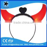 2015 Concert led flashing ox horn,led light up devil horns                                                                         Quality Choice
