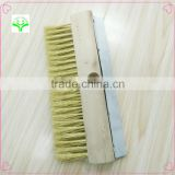 wooden wire brush Pizza oven clean copper graphite carbon brush wire copper brush