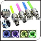 Hot Sell Colorful Growing Tyre Tire Valve Caps Led Bike Wheel Lights