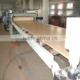 PVC skinning foaming board WPC foam board production line