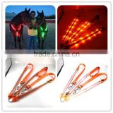Factory Wholesale Orange Led Flashing Horse Breastplate (First In the World)
