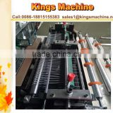 Automatic Garbage Shopping Bags Machine Cutter (Poly PE U-Shaped Bags T-Shirt Bag Linked Bag)(Kings brand)