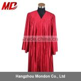 Choir robe - adult church robe shiny red