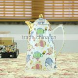 Wholesale dinnerware 800ml ceramic cold water thermos, disposable thermos, thermos flask kettle