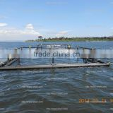 HDPE floating lake harvest fish cage