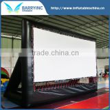 OEM design hot selling 150 inch or customized inflatable projection screen