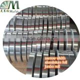 manufacturer offer single side aluminum foil jumbo roll strip for flexible duct ,narrow width,hairdressing