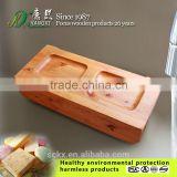 Quality solid wood bathroom accessories, wooden soap dishes