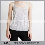 Vest female short paragraph bottoming solid color large size women's 100% silk women tank top