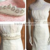 Crystal Beaded Wedding Accessories Rhinestone Wedding Dress Belt Bridal Sash