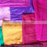 sari cut pieces in a meter length and longer for art and crafts, patchwork crafts, quilting