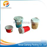 Wholesale print customized logo paper smoothie cup