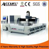 Accurl brand BCL-FBR 500w 1000w 2000w Laser Fiber cutting machine Round & Square Tube Machine