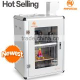 New Style Digital 3D Printer Education Desktop FDM Printer 3D Machine Full Metal Rapid Prototyping 3D Printing Machinery