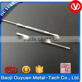Pure titanium ear cleaning tools,titanium dig earwax spoon, handmade fine polishing.Never rust, no corrosion