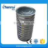 Sieves. 30cm Dia Brass Fine Series Sand stone SievesFor removal of stones and debris from soil