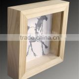 classical deep wooden photo frame box wooden box wooden packaging wholesale