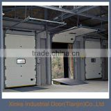 Automatic galvanized finished reinforcing struts sectional overhead Industrial sliding door SLD-014
