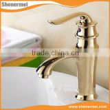 New design Antique chrome plated brass faucet