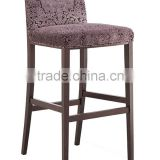 Modern bar stool wooden chair used for restaurant /bar/night club
