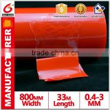 Strong initial adhesion bumper rail Acrylic tape