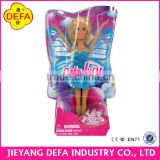 High quality mini butterfly fairy doll 8121 fashion doll pretty girl doll