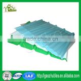 1.2mm lake blue sky blue 10 year guarantee chopped strands for frp sheet for sound barriers