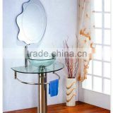 Inquiry About Tempered glass basin and glass table vanity for sale