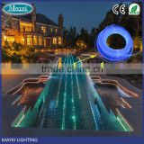 14mm Soild core side glow fiber optic cable for swimming pool light
