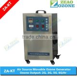 ozone generator for fish pond with ORP meter 5g to 35g