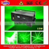 15W hotel logo projector DT40kpss green text-image programmable laser DJ show system