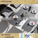 all weather outdoor funriutre garden sets high quality extendable dining table(ATC003)