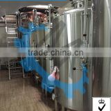 Turnkey plant of wide beer brewery equipment / Beer Ripening tanks and conical brewery fermenters