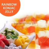 INQUIRY about Rainbow konjac jelly for bubble tea