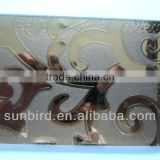 Yellow-golld Silver Blue Bronze Stainless steel Titanium silver Coated glass