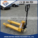 high lift hydraulic hand pallet truck for sale