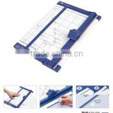 office&school use plactic paper cutter, hot sal disk cutter, plastic paper trimmer