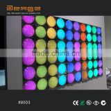 40 programs ready LED stage lighting bubble wall