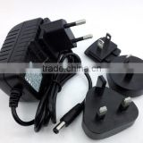 15W 18W 24W 30W 36 W, DoE Level VI & CoC Tier 2 Efficiency, Interchangeable Input Blades, Wall Plug Adapter, Ac-Dc Power Supply