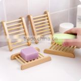 wholesale wooden soap dish with drain soap dish wood