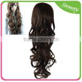 Lady Full Lace Long Curly Wavy Hair Wig
